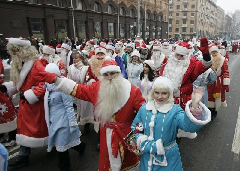 Конкурс Дедов Морозов и Снегурочек