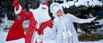 Сценарий для Деда Мороза и Снегурочки на дом для детей на 30 минут
